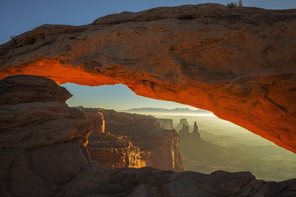 Arch in Canyonlands