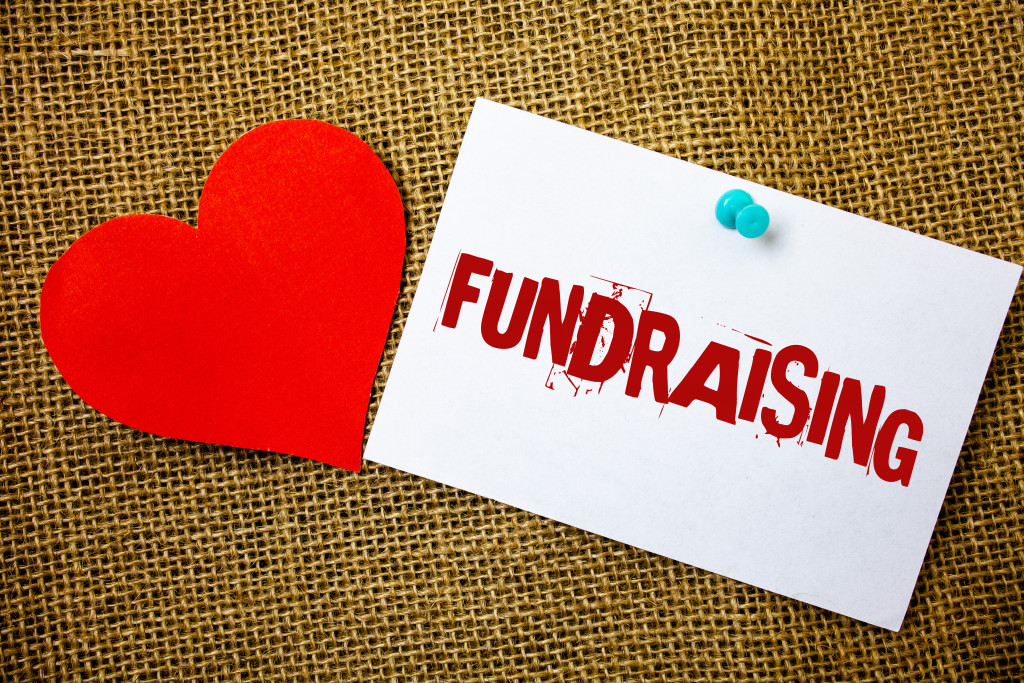 fundraising word